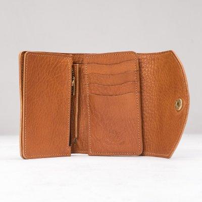 OGL WX2 Tri Fold Short Wallet Tan