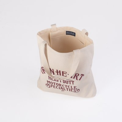 IHE-34 - Printed Canvas Tote Bag
