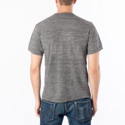 "6.5oz Printed Loopwheel Crew Neck T-Shirt ""Hard as Duck"" - Marl Grey or Navy"