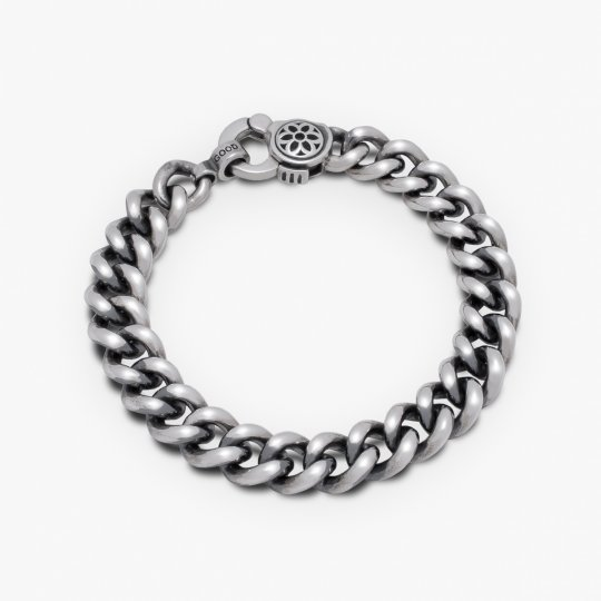 GOOD ART HLYWD Curb Chain No.6 Bracelet - Sterling Silver