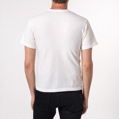 Printed 6.5oz Loopwheel T-Shirts - White