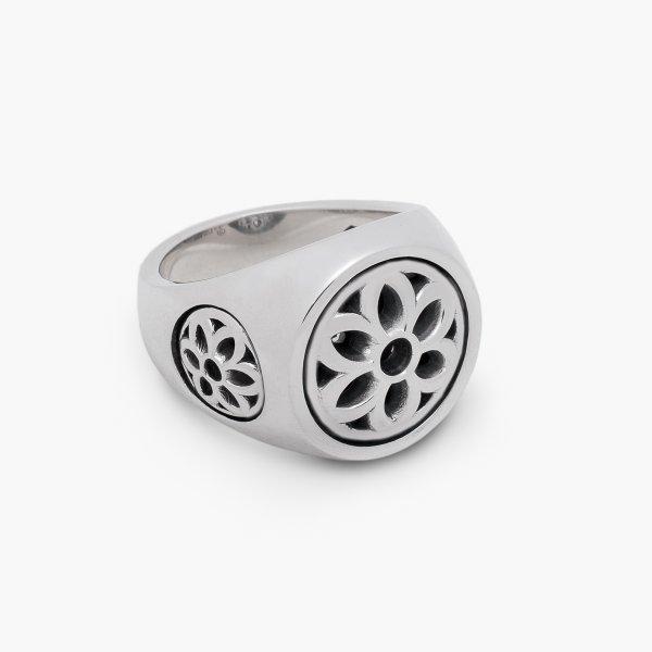 GOOD ART HLYWD Club Ring Single Tone Size Medium - Sterling Silver