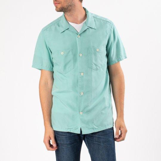 Rayon Bowling Shirt - Mint