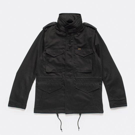 Sateen M-65 Field Jacket - Black