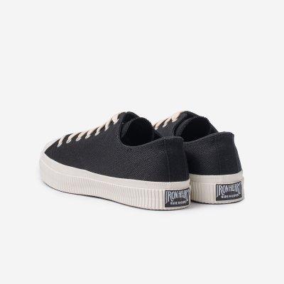 21oz Denim Low-Top Sneakers - Superblack