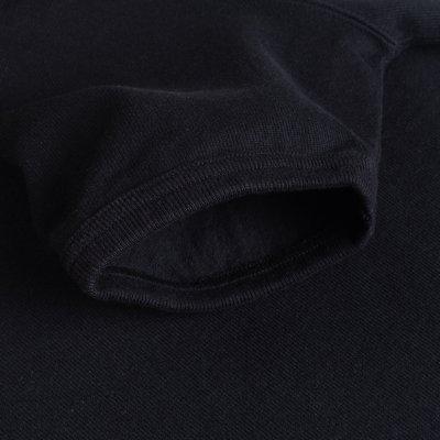 Extra Heavy Cotton Knit Crew Neck Short Sleeved T-Shirt